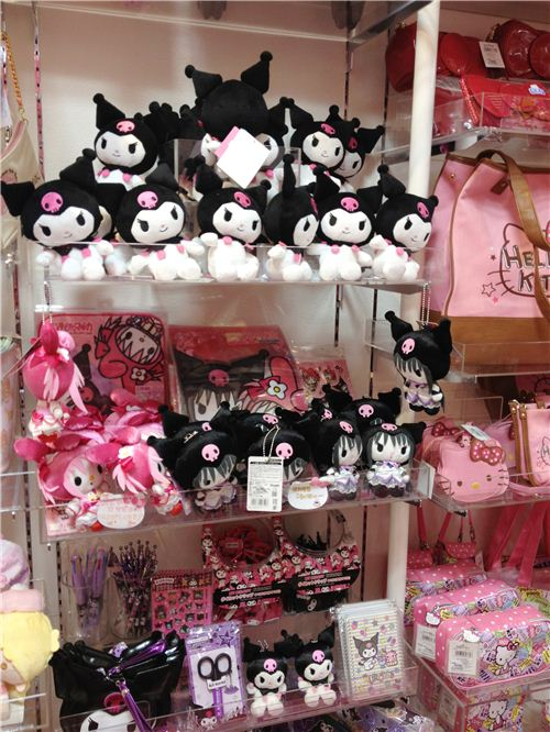 Lots of Kuromi goodies