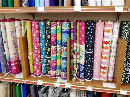 A paradise for fabric lovers