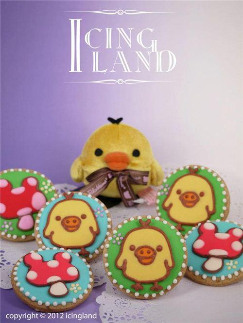Kiiroitori looks great on cookies