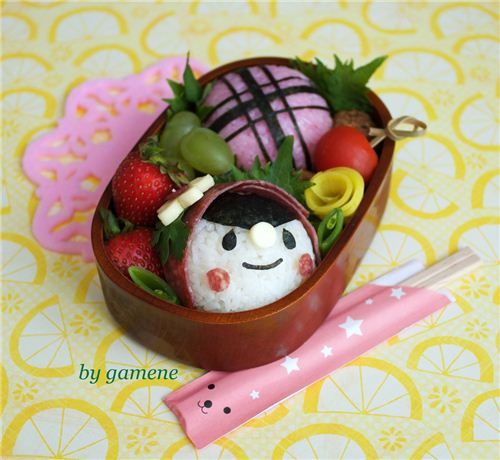 Cute Little Red Riding Hood bento by gamene