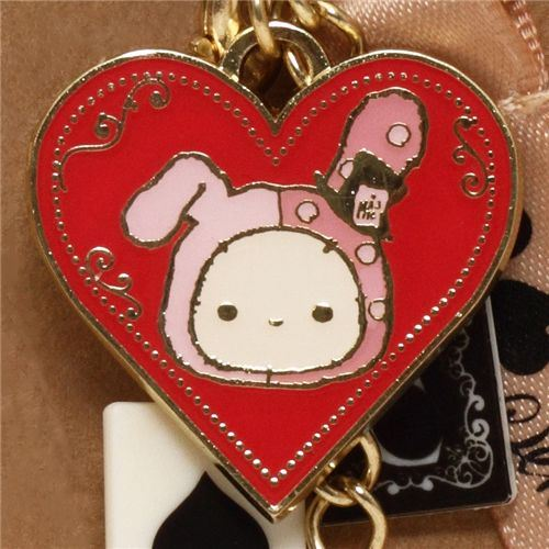 Sentimental Circus cellphone strap playing cards heart