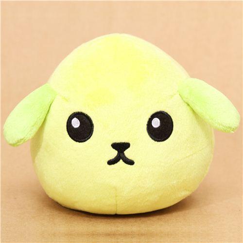 super big green Mameshiba bean dog plush toy