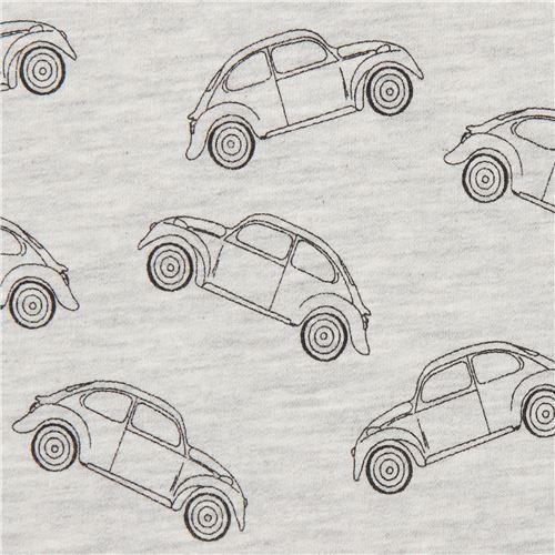 Stof Fabrics soft grey car sweat fabric