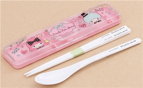 Sanrio Little Twin Stars Bento Spoon Chopsticks by Crux