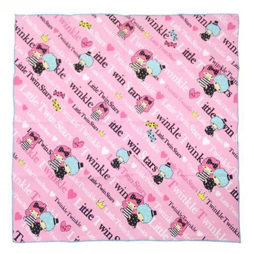 pink LittleTwin Stars heart lunch cloth towel from Japan