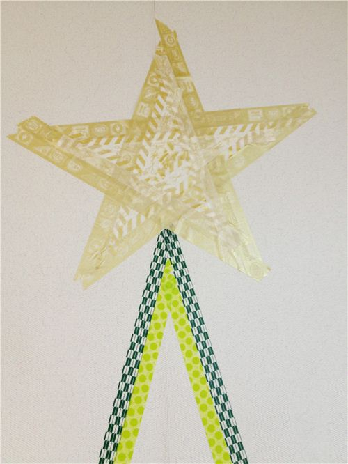 We're crafting a Washi Christmas Tree 4