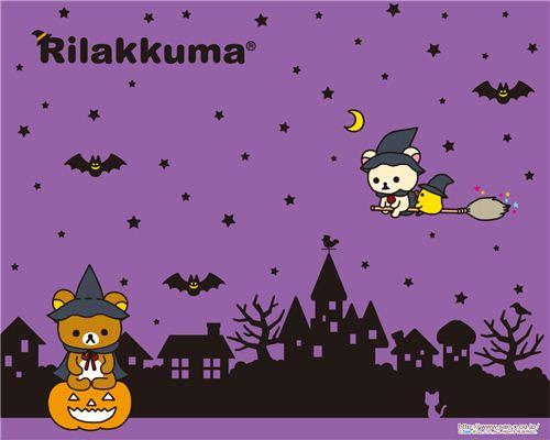 Super cute Rilakkuma wallpaper by San-X
