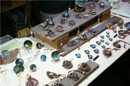 More stunning glass items