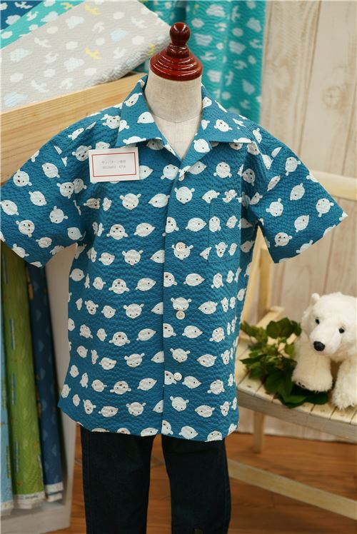 What a lovely T-shirt, made out of ripple fabric!