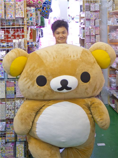 A lot of Rilakkuma and a little bit of Burton