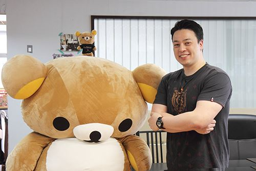 The interview left Rilakkuma exhausted.