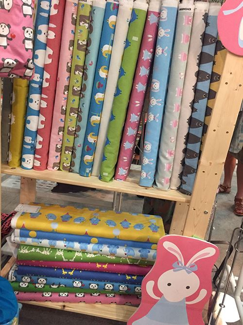 Beautiful Kiyohara fabrics